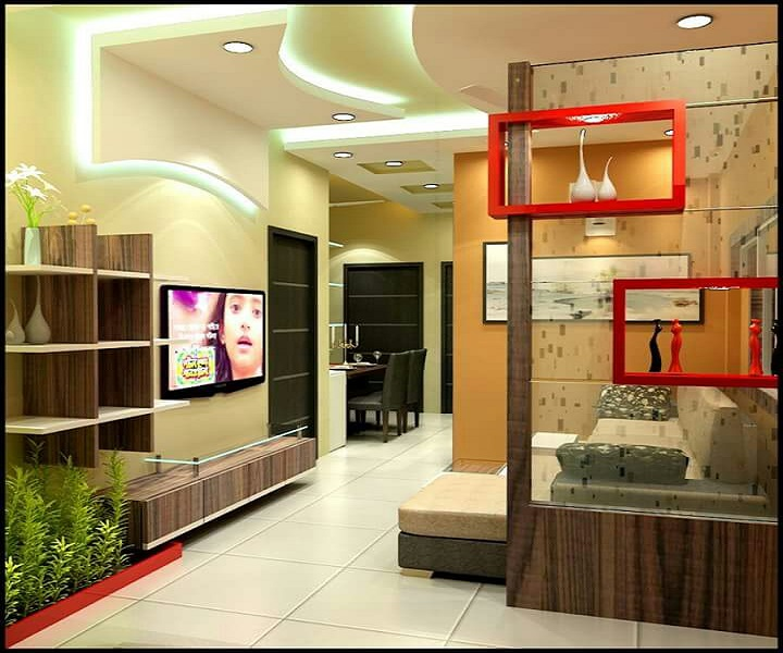 10 Small House Interior Design Solutions: 2 Or 3 BHK Flat Interior Designing Cost In Kolkata